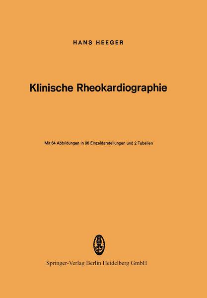 Klinische Rheokardiographie - Coverbild