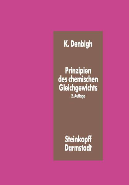 Prinzipien des Chemischen Gleichgewichts - Coverbild