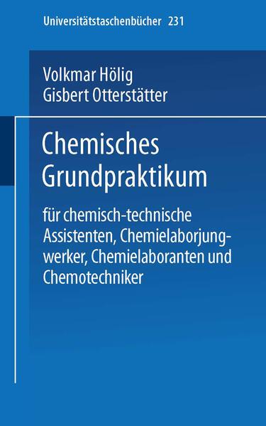 Chemisches Grundpraktikum - Coverbild