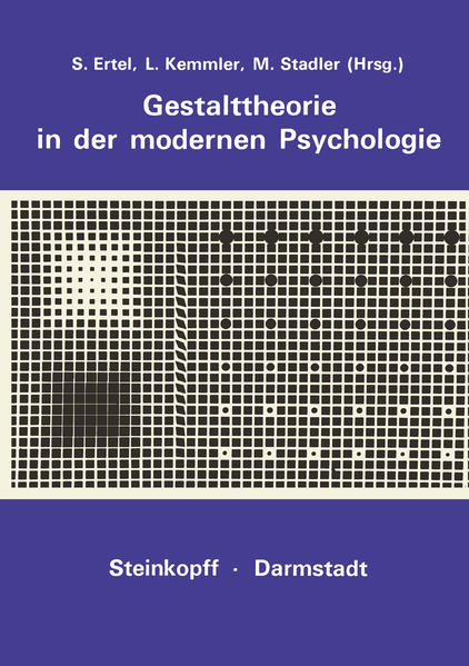 Gestalttheorie in der Modernen Psychologie - Coverbild