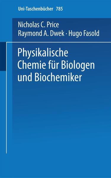 Physikalische Chemie für Biologen und Biochemiker - Coverbild
