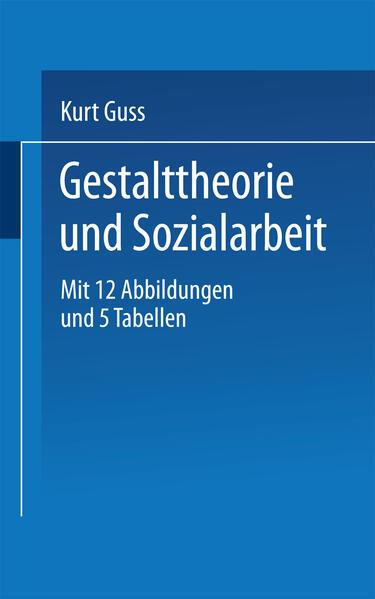Gestalttheorie und Sozialarbeit - Coverbild