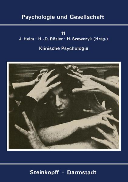 Klinische Psychologie - Coverbild