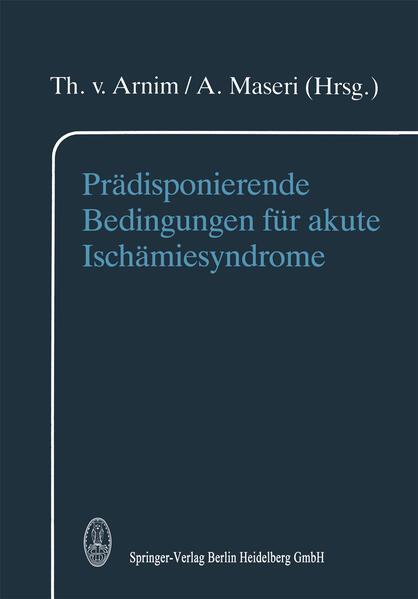 Prädisponierende Bedingungen für akute Ischämiesyndrome - Coverbild