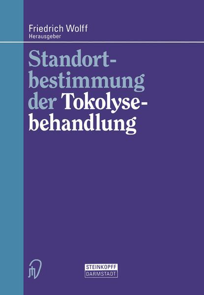 Standortbestimmung der Tokolysebehandlung - Coverbild