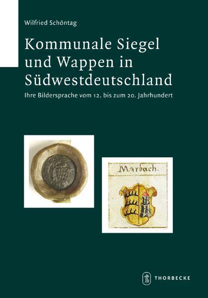 Kommunale Siegel und Wappen in Südwestdeutschland - Coverbild
