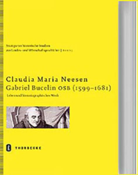 Gabriel Bucelin OSB (1599-1681) - Coverbild