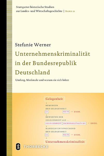 Unternehmenskriminalität in der Bundesrepublik Deutschland - Coverbild