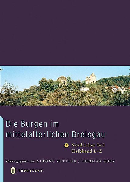 Die Burgen im mittelalterlichen Breisgau - Coverbild