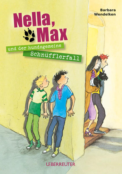 Nella, Max und der hundsgemeine Schnüfflerfall - Coverbild