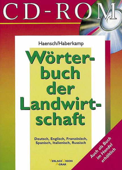 Wörterbuch der Landwirtschaft - Coverbild