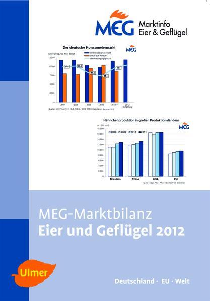 MEG Marktbilanz Eier und Geflügel 2012 - Coverbild