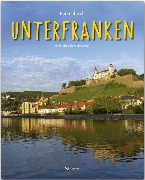 Reise durch UNTERFRANKEN - Coverbild
