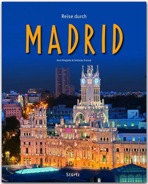Reise durch MADRID - Coverbild