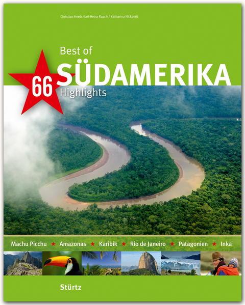 Best of Südamerika - 66 Highlights - Coverbild
