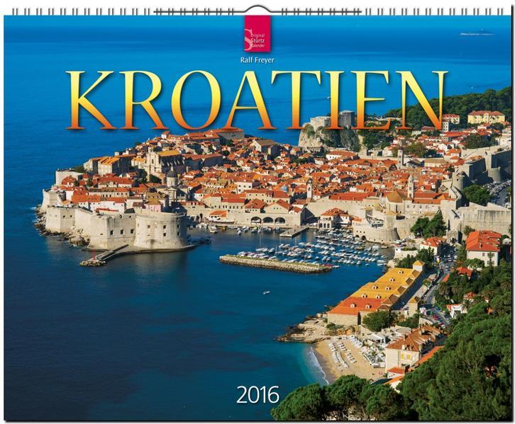 Kroatien 2016 - Coverbild