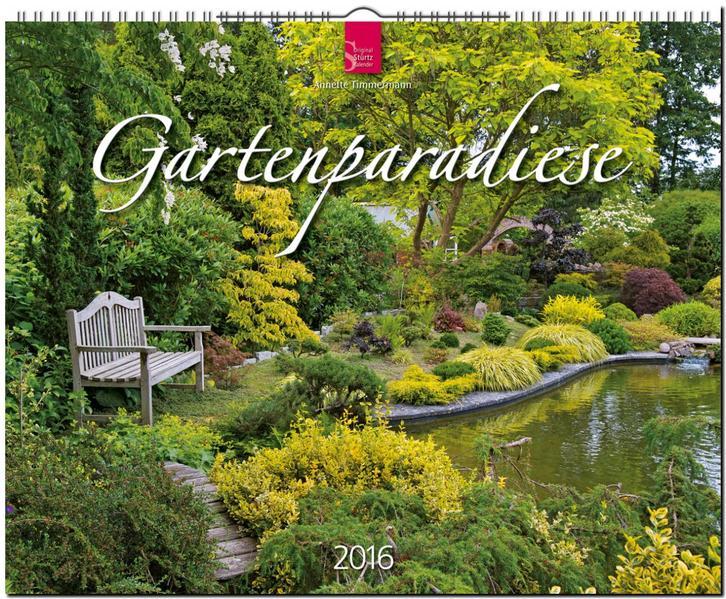 Gartenparadiese 2016 - Coverbild
