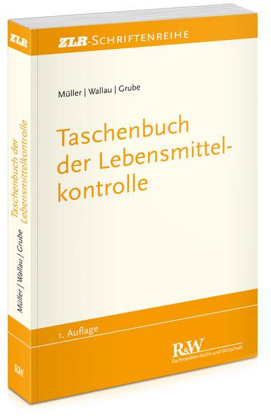 Taschenbuch der Lebensmittelkontrolle - Coverbild