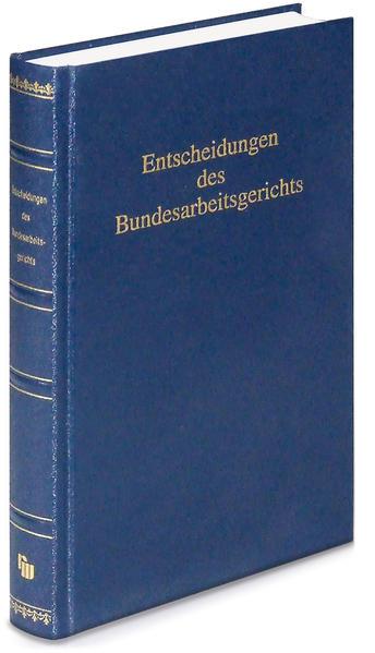 Entscheidungen des Bundesarbeitsgerichts (BAGE) - Coverbild