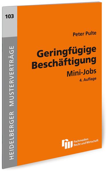 Geringfügige Beschäftigung - Coverbild