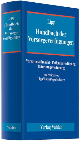 Handbuch der Vorsorgeverfügungen - Coverbild