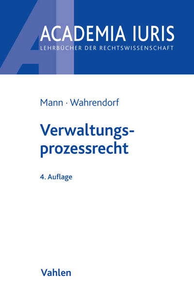 Verwaltungsprozessrecht - Coverbild