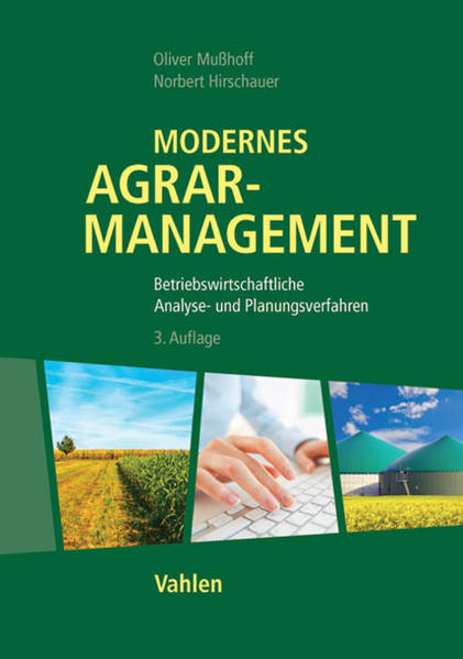 Modernes Agrarmanagement - Coverbild