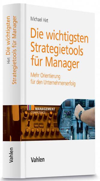 Die wichtigsten Strategietools für Manager - Coverbild