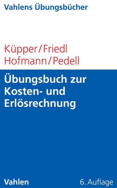 Übungsbuch zur Kosten- und Erlösrechnung - Coverbild