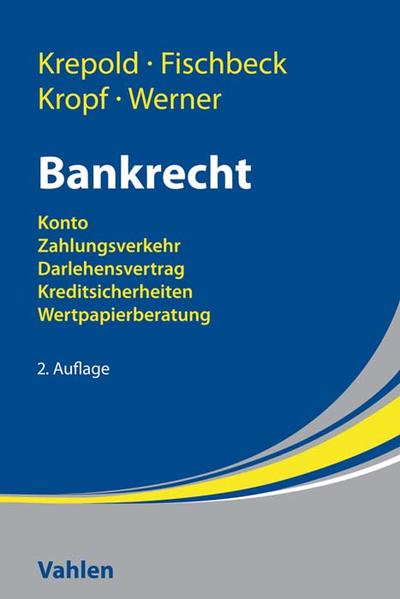 Bankrecht - Coverbild