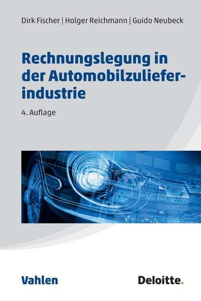 Rechnungslegung in der Automobilzulieferindustrie - Coverbild