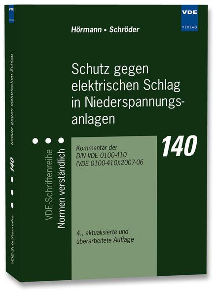 Schutz gegen elektrischen Schlag in Niederspannungsanlagen - Coverbild