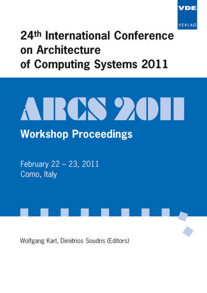 ARCS 2011 - Coverbild
