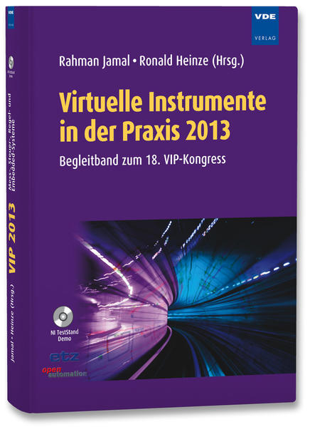 Virtuelle Instrumente in der Praxis 2013 - Coverbild