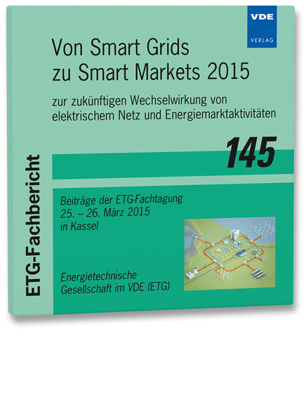 ETG-Fb. 145: Von Smart Grids zu Smart Markets 2015 - Coverbild