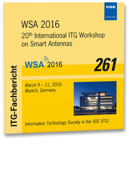 ITG-Fb. 261: WSA 2016 - Coverbild