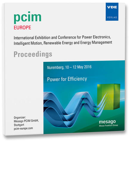 PCIM Europe 2016 - Coverbild