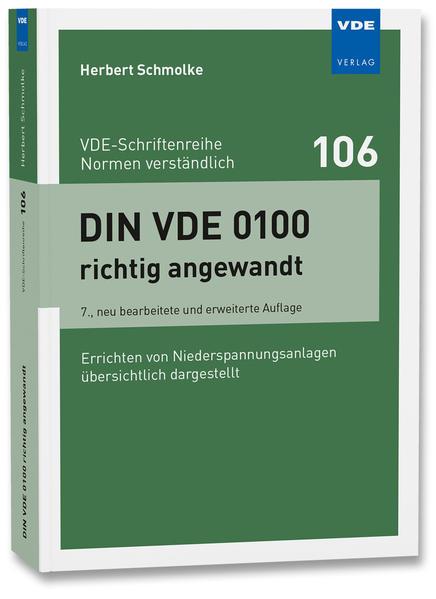 DIN VDE 0100 richtig angewandt - Coverbild