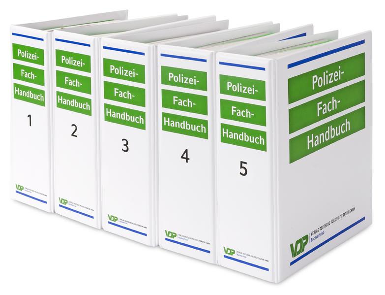 Polizei-Fach-Handbuch (PolFHa) - Ausgabe Brandenburg - Coverbild