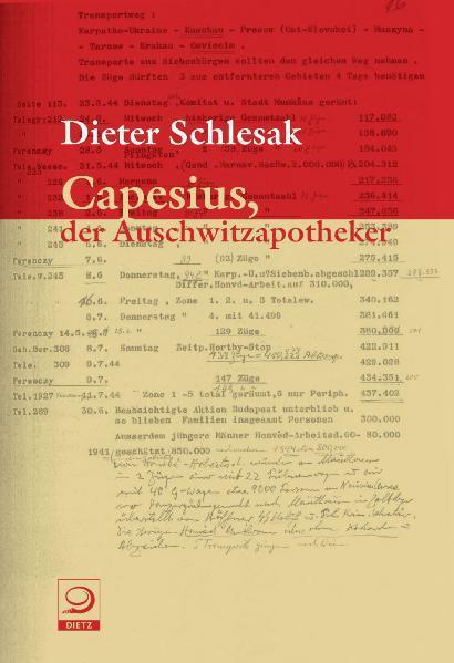 Capesius, der Auschwitzapotheker - Coverbild