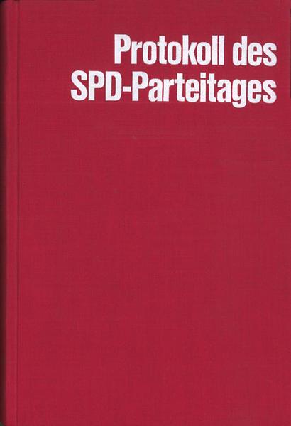 Protokoll über die Verhandlungen des Parteitages der SPD 1890-1913 - Coverbild