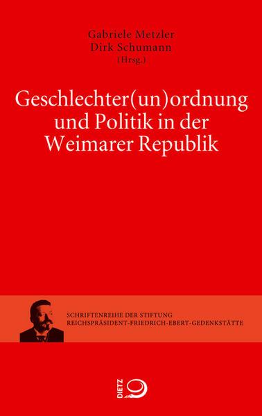 Geschlechter(un)ordnung und Politik in der Weimarer Republik - Coverbild
