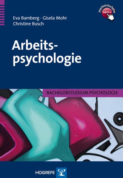 Arbeitspsychologie - Coverbild