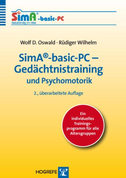 SimA®-basic-PC – Gedächtnistraining und Psychomotorik - Coverbild