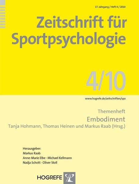 Zeitschrift für Sportpsychologie / Zeitschrift für Sportpsychologie - Coverbild