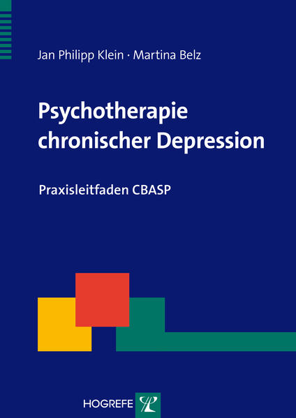 Psychotherapie chronischer Depression - Coverbild