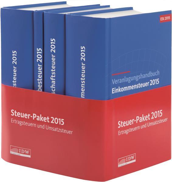 Steuer-Paket 2015: Ertragsteuern und Umsatzsteuer - Coverbild