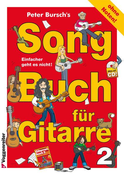 Peter Bursch's Songbuch für Gitarre Bd. 2 - Coverbild