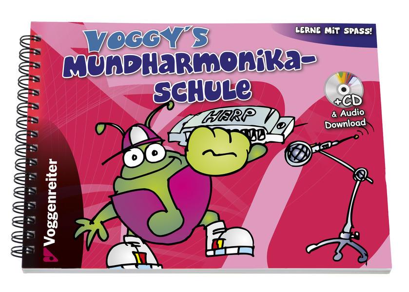 Voggy's Mundharmonikaschule - Coverbild