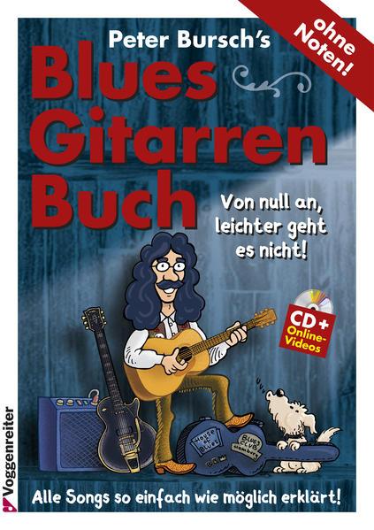 Peter Bursch's Blues-Gitarrenbuch - Coverbild